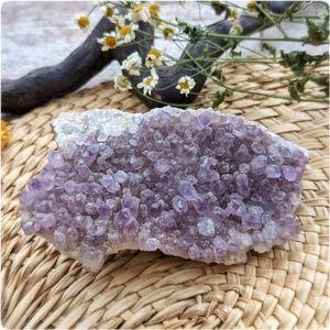 Natural Amethyst phantom Quartz crystal cluster